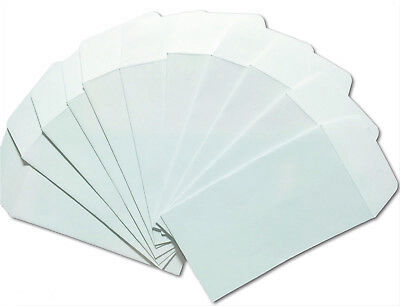 25/Pk - #3 COIN ENVELOPES 4.25x2.5 White Gummed Seal Acid Free 4 1/4 x 2 1/2