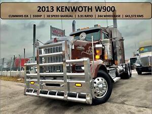 2013 Kenworth W900 Cummins ISX 550HP 18 Speed