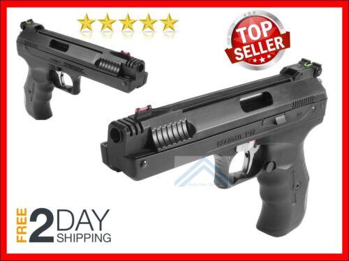 PELLET GUN AIR PISTOL Fiber Optic Sight Single-Stroke Hunting Beeman BB Handgun