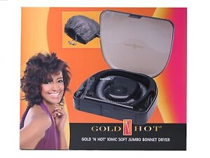 Gold 'N Hot Ionic Soft Jumbo Bonnet Hair Dryer GH3984