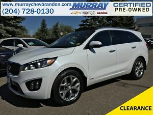 2016 Kia Sorento 2.0L Turbo SX AWD *Nav* *Blind Side* *Heat/Cool