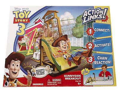 Toy Story 3 Action Links Sunnyside Breakout Stunt Set + Woody & Big Baby Figures - Baby Toy Story
