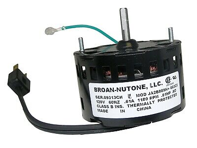 40695 Vent Bath Fan Motor For 0695b000 Nutone Broan Qt80