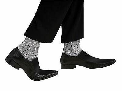 Michael Jackson Sparkle Socks Slv Heat Sequin Elasticized Costume Ankle Covers](Michael Jackson Sparkle Socks)
