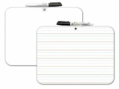 Board Dudes Double Sided Dry Erase Lapboard 9 X 12 Inches