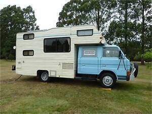 Winnebago Deluxe motorhome with 1986 Ford Trader dual cab diesel Shearwater Latrobe Area Preview