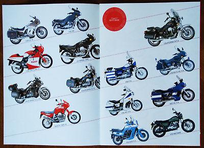 Moto Guzzi brochure Prospekt, 1991 (Italian text)