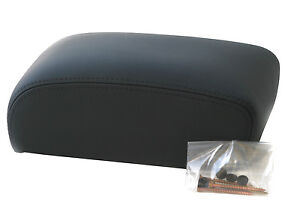 Genuine Land Rover Freelander Centre Console Armrest -Black Leather