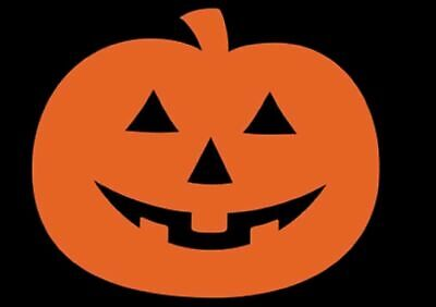 Die Cut Vinyl Decal Halloween Pumkin Jack-o-Lantern 20 Colors Car Truck ATV #71 - Halloween Pumkin