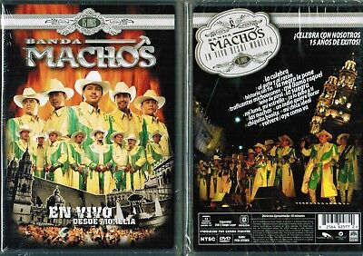 Banda Machos En Vivo Desde Morelia spanish New DVD
