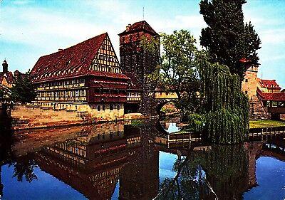 Nürnberg , Henkersteg , Ansichtskarte 1977 gelaufen