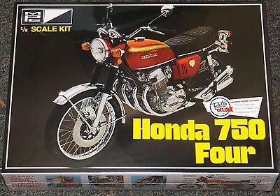 MPC 1970's HONDA 750 four Motorcycle model kit 1/8