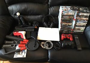 SONY PS3 ( FULLY LOADED ) ALL MINT CONDITION.