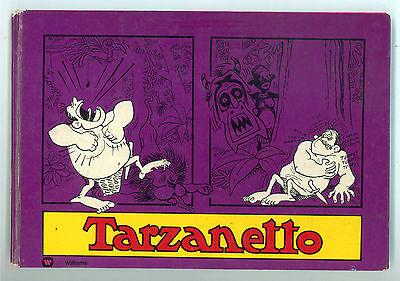 TARZANETTO WILLIAMS INTEUROPA 1973 HUMORCOMICS PRIMA EDIZIONE UMORISMO SATIRA