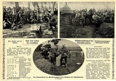 Bilder aus dem Leben der deutschen Besatzungstruppen im Kiautschougebiet v.1912