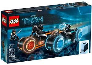 LEGO 21314 IDEAS TRON: LEGACY BRAND NEW SEALED NEVER OPENED