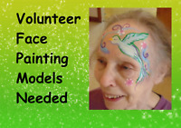 Face Painting Models Needed Now