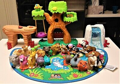 Fisher Price Little People A to Z Learning Zoo 26 Animals Alphabet Play Set