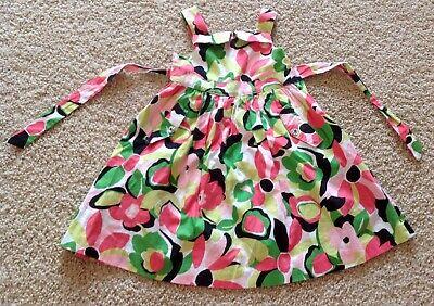 Palm Beach Flower (EUC Gymboree Girl Size 3 PALM BEACH PARADISE Flower Dress Cute Gently Used )