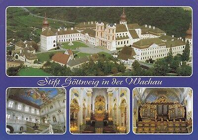 Alte Postkarte - Stift Göttweig in der Wachau