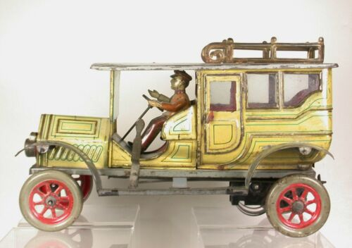 EBERL (EBO) LIMOUSINE circa 1910 - GERMANY - LITHOGRAPHED TIN W/U EXCELLENT PLUS