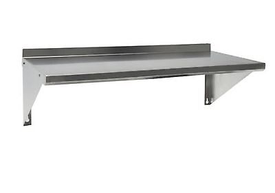 Stainless Steel Commercial Wall Mounted Shelf 18x24