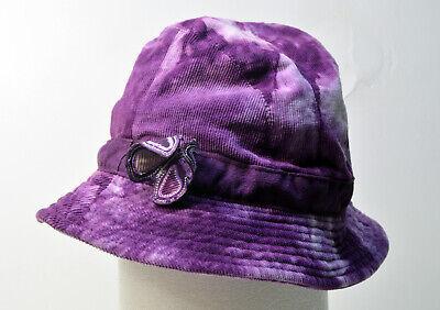 - Purple Butterfly Bucket Hat – One Size Fits Most (OSFM) - Floppy