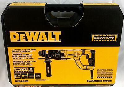 Dewalt D25263k 1-18 In. Sds D-handle Rotary Hammer - 885911379878