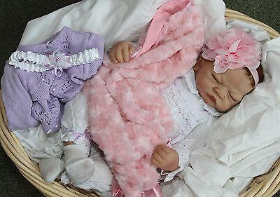 SHH! SLEEPING BABY! - Feel her Breath! 22 Inch Collectors Life Like Girl Doll
