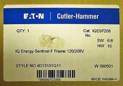 Eaton Cutler Hammer Iqesf208 F Frame Iq Energy Sentinel 120 208V 4D13101g11