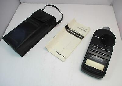Radio Shack Realistic Sound Level Meter 33-2055 With Case Manual - Tested