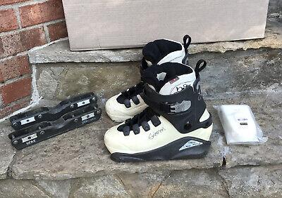 Salomon Brandon Campbell Pro Widebody US 9.5 27 / 27.5 aggressive inline skates