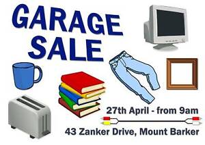 Garage Sale - Mount Barker