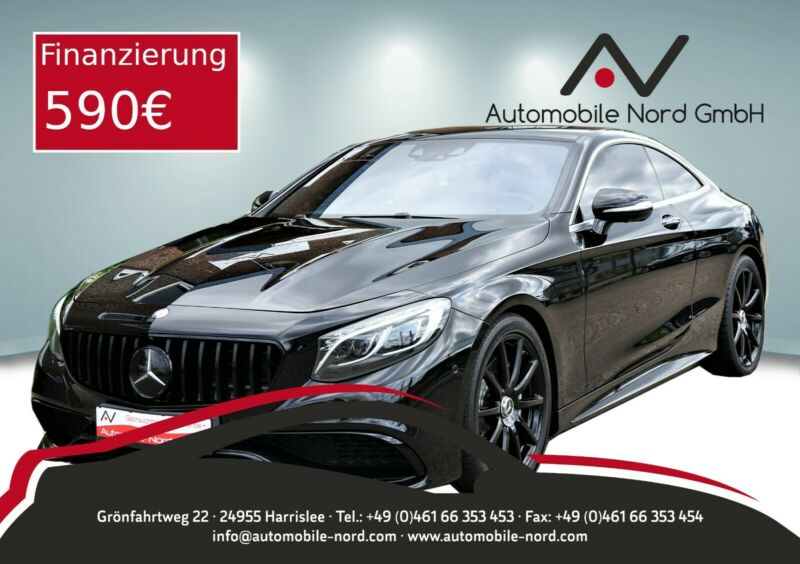 Mercedes-Benz  Coupe S 63 AMG Driver's Package*Night-Paket