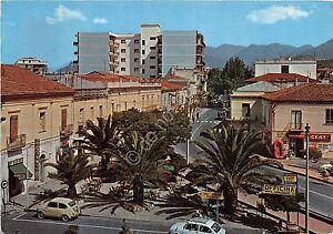 Cartolina-Praia-a-Mare-Piazza-Italia-anni-039-70-VG