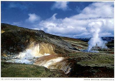 Iceland  -  Krysuvik - Motiv im Geothermalgebiet  -  ca.1995