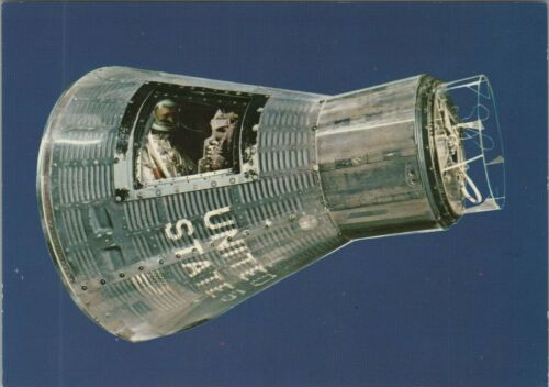 NASA Friendship 7 Mercury Space Capsule Smithsonian Vintage Postcard - Unposted