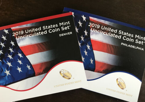 2019-p & D Uncirculated Us Mint 20-coin Set 19rj -- Ships Free!