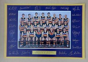Adelaide Crows 1997 Premiers Poster 46x68cm Original Poster