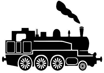 Steam Train Decal / Sticker