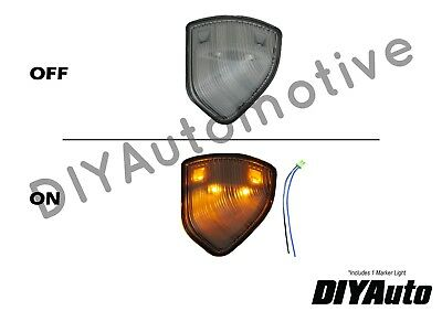 Tow Mirror Turn Signal Clear Driver Side Left LH for Dodge Ram Pickup Truck New