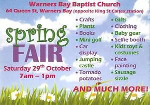 Warners Bay Baptist Church Spring Fair Warners Bay Lake Macquarie Area Preview