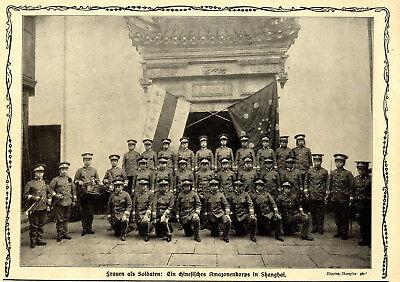 Frauen als Soldaten: Ein chinesisches Amazonenkorps in Shanghai von 1912