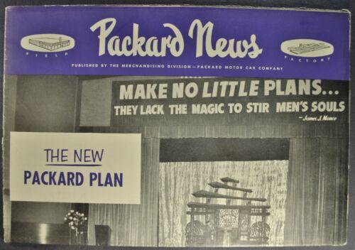 1952 Packard News 200 300 Patrician 400 Sedan Convertible Excellent Original 52