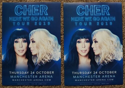 2 Flyers - Cher - Here We Go Again Tour - 24th October 2019 - Manchester Arena -