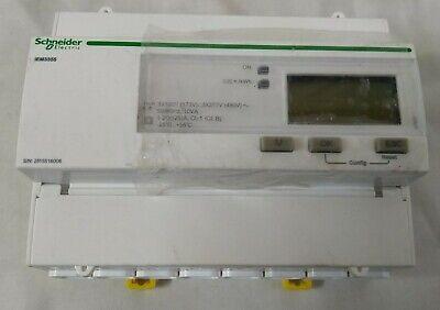 Schneider A9mem3355 Acti 9 Iem3000 Lcd Digital Power Meter 9-digits 3 Phase