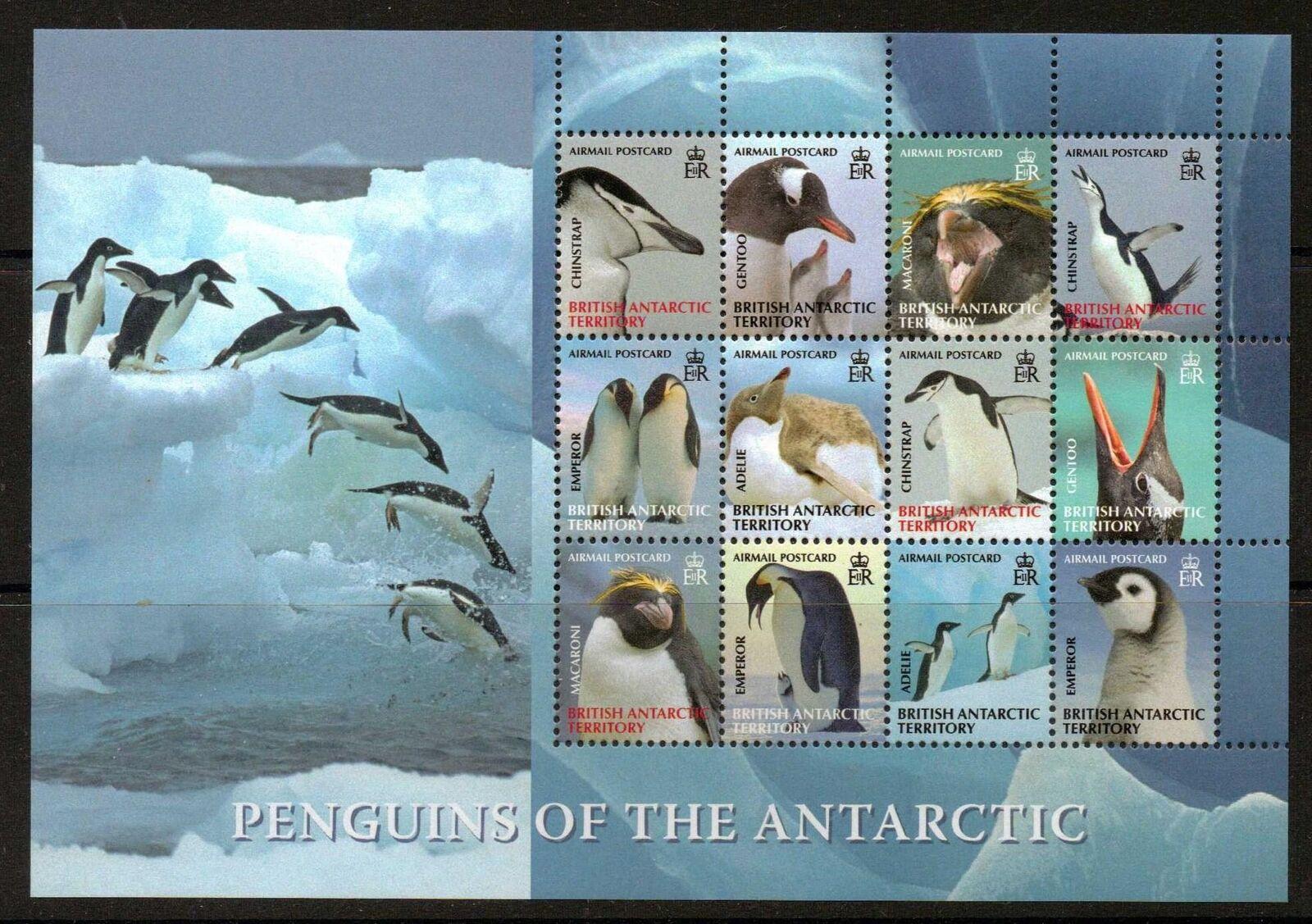 BRITISH ANTARCTIC TERR. SG474a 2008 PENGUINS OF THE ANTARTIC (3rd SERIES )  MNH
