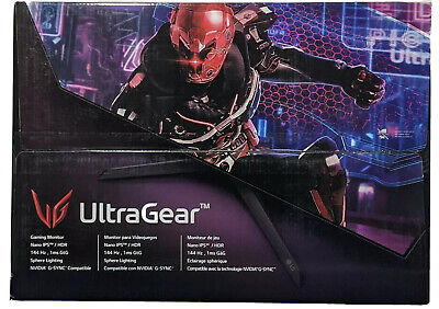 "LG UltraGear 27GN950-B - 27"" 4K UHD Nano IPS 1ms 144Hz G-Sync Gaming Monitor NEW"