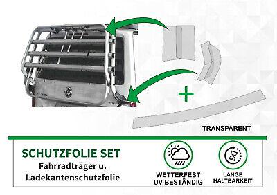 Schutzfolie Fahrradträger Radträger Heckträger + Ladekante VW Bus Multivan T6