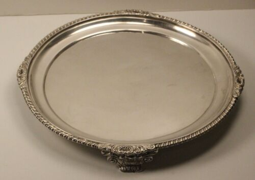 Vintage Tiffany & Co England Sterling Silver Tray